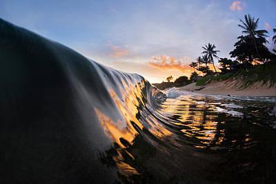 Pastel Sky Photograph - Liquid Sunshine by Sean Davey
