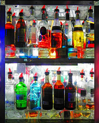 Digital Art - Liquor Cabinet by Francesa Miller