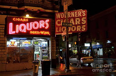 Photograph - Liquor Store In San Francisco - Color by Carlos Alkmin