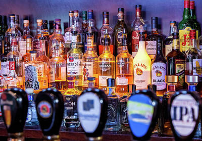 Photograph - Liquors by Jonathan Nguyen