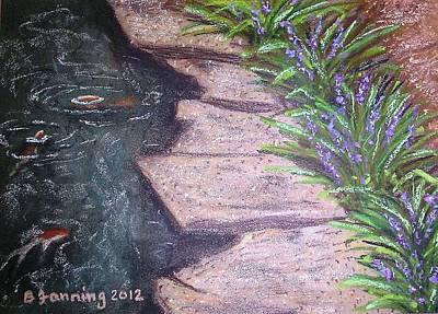 Painting - Liriope Glow by Brenda Stevens Fanning