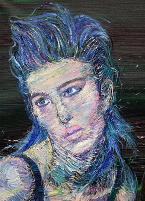 Painting - Gina by Fabrizio Cassetta