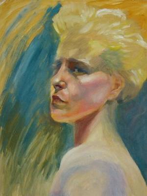 Painting - Lisa by Irena Jablonski