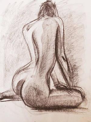 Drawing - Lisa by Jarko Aka Lui Grande