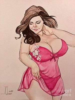 Lisa Marie Art Print