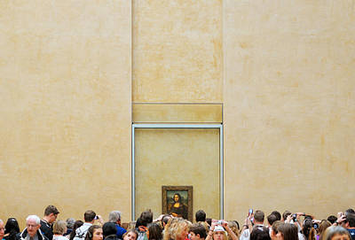 Mona Lisa Photograph - Lisa\'s Window On The World by Riekus Reinders