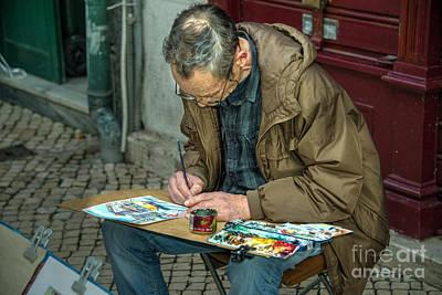 Lisboa Artiste  Art Print