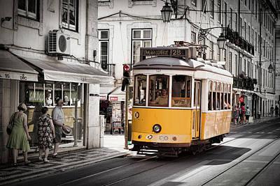 Photograph - Lisboa Tram I by Stefan Nielsen