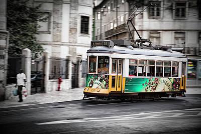 Photograph - Lisboa Tram IIi by Stefan Nielsen
