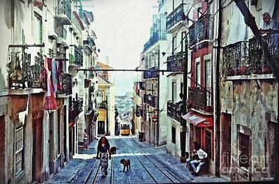 Photograph - Lisboa Tram Route by Sarah Loft