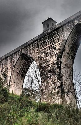 Photograph - Lisbon Aqueduct by Dora Hathazi Mendes