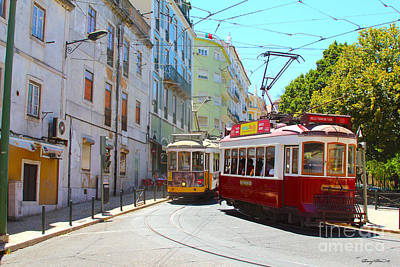 Loud Photograph - Lisbon by Carey Chen