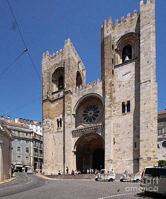 Photograph - Lisbon Cathedral 1 by Rudi Prott
