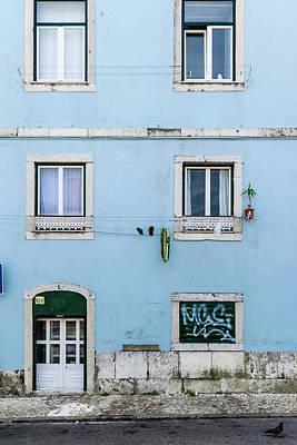 Door Photograph - Lisbon Door And Windows by Steven Richman