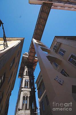 Photograph - Lisbon Elevator 2 by Rudi Prott