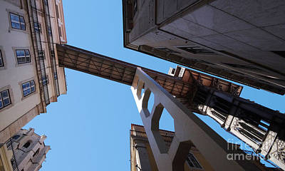 Photograph - Lisbon Elevator 3 by Rudi Prott