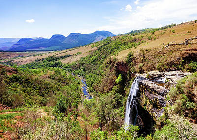 Lisbon Falls In Mpumalanga - South Africa Art Print
