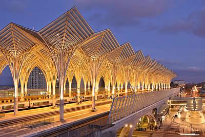 Lisbon Gare Do Oriente Art Print