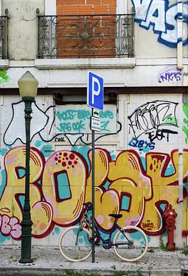 Portugal Photograph - Lisbon Graffiti by Steven Richman