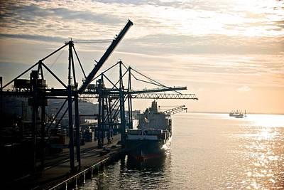 Photograph - Lisbon Harbor by Eric Tressler