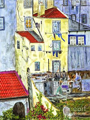 Lisbon Home Painting Original