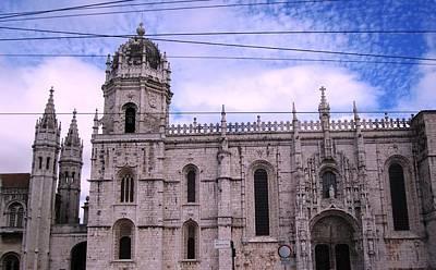 Photograph - Lisbon Jeronimo Monastery II Portugal by John Shiron