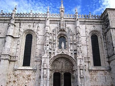 Photograph - Lisbon Jeronimo Monastery Iv Portugal by John Shiron