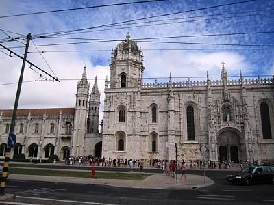 Photograph - Lisbon Jeronimo Monastery Portugal by John Shiron