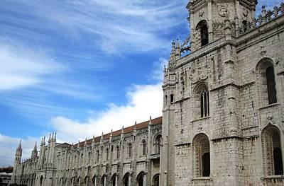 Photograph - Lisbon Jeronimo Monastery V Portugal by John Shiron