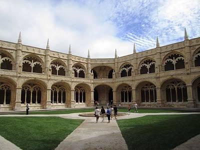 Photograph - Lisbon Jeronimo Monastery X Portugal by John Shiron