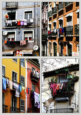 Photograph - Lisbon Laundry by Lorraine Devon Wilke