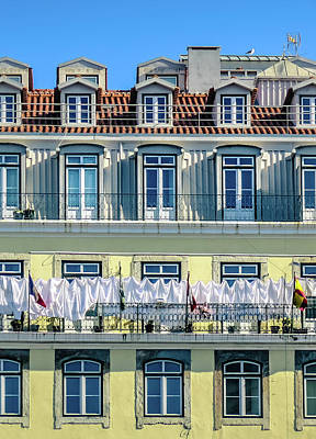 Photograph - Lisbon Laundry by Marion McCristall