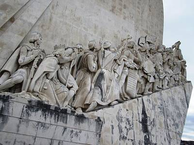Photograph - Lisbon Monument Portugal by John Shiron