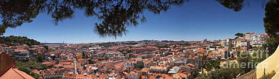 Photograph - Lisbon Panorama 1 by Rudi Prott
