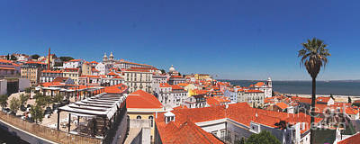 Photograph - Lisbon Panorama 2 by Rudi Prott