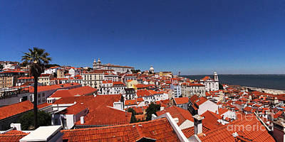 Photograph - Lisbon Panorama 3 by Rudi Prott