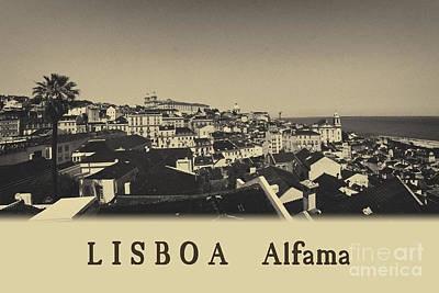Photograph - Lisbon Panorama 4 by Rudi Prott