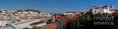 Photograph - Lisbon Panorama 5 by Rudi Prott