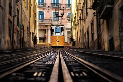 Photograph - Lisbon Scene by Jorge Maia
