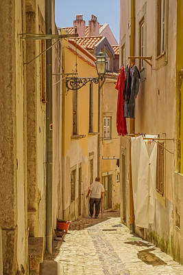 Photograph - Lisbon Street # 1 by Tom and Pat Cory