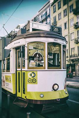 Photograph - Lisbon Tram by Georgia Fowler