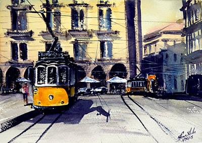 Lisbon Tram I Original