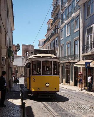 Photograph - Lisbon Tramway 1 by Rudi Prott