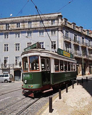 Photograph - Lisbon Tramway 2 by Rudi Prott