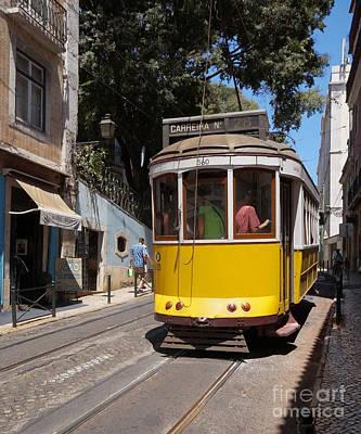 Photograph - Lisbon Tramway 3 by Rudi Prott