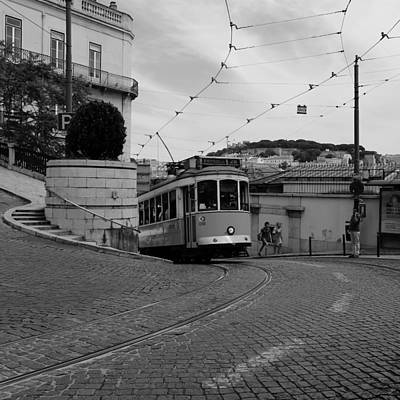 Photograph - Lisbon Trolley 10b by Andrew Fare