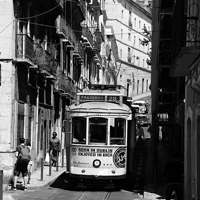 Photograph - Lisbon Trolley 16b by Andrew Fare