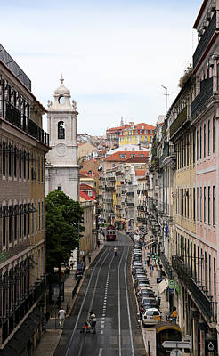 Photograph - Lisbon Trolley 9 by Andrew Fare