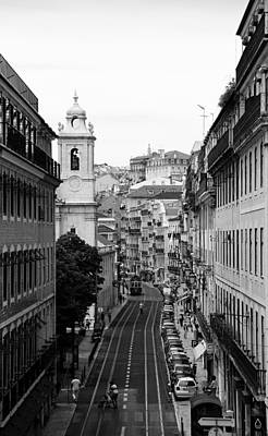 Photograph - Lisbon Trolley 9b by Andrew Fare