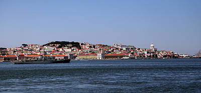 Photograph - Lisbon Waterfront 1 by Andrew Fare